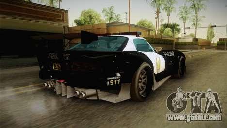 GTA 5 Bravado Banshee Supercop IVF for GTA San Andreas left view