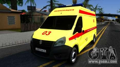 GAZelle Next Resuscitation for GTA San Andreas