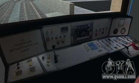 Metrostav type E-KM for GTA San Andreas engine