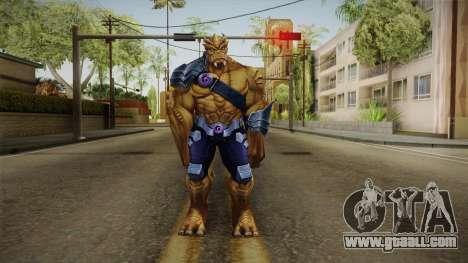 Marvel Future Fight - Black Dwarf for GTA San Andreas second screenshot