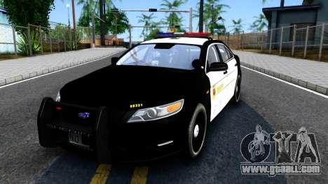 Ford Taurus LASD Interceptor for GTA San Andreas