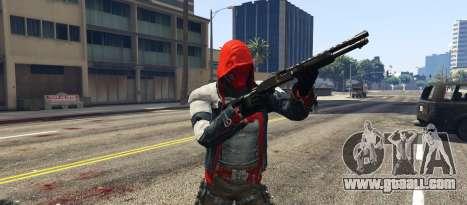 GTA 5 BAK Red Hood third screenshot