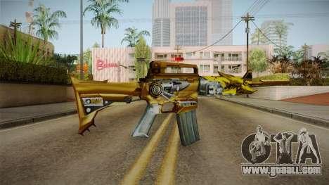 Cross Fire - M4A1-S Iron Beast Noble Gold for GTA San Andreas third screenshot