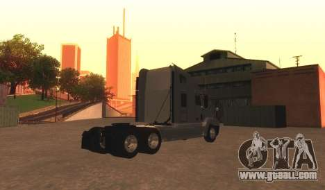 Freightliner Century v2 for GTA San Andreas back left view
