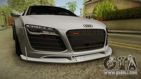 Audi R8 V10 Plus LB Performance for GTA San Andreas side view