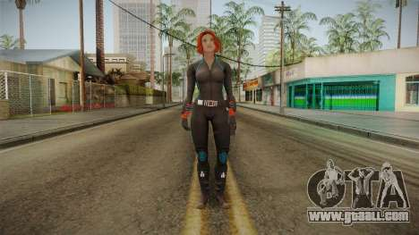 Marvel Heroes - Black Widow Scarlet Johanson for GTA San Andreas second screenshot