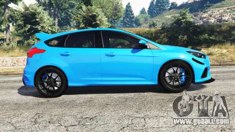 GTA 5 Ford Focus RS (DYB) 2017 [replace] left side view
