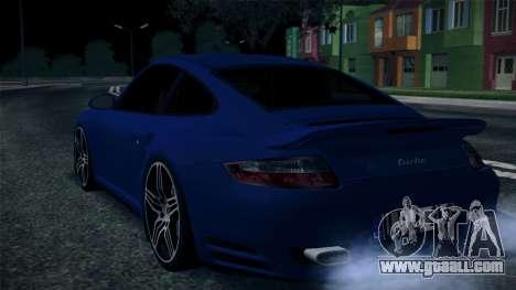 Porsche 911 Turbo 2007 for GTA San Andreas inner view