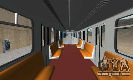 Metrostav type E-KM for GTA San Andreas bottom view