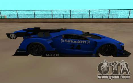 Lukan Hyper Sport for GTA San Andreas left view