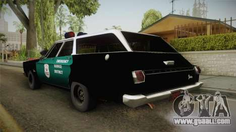 Plymouth Belvedere Station Wagon 1965 NYPD for GTA San Andreas left view
