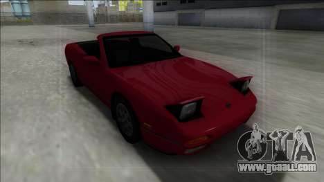Nissan 240SX Cabrio for GTA San Andreas back view