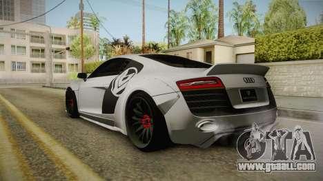 Audi R8 V10 Plus LB Performance for GTA San Andreas left view