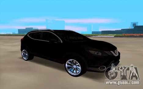 Nissan Qashqai 2016 for GTA San Andreas