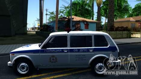 Lada 4x4 21310-59 Urban 2016 Russian Police for GTA San Andreas left view