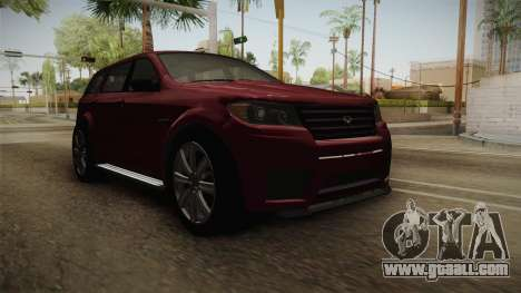 GTA 5 Bravado Gresley for GTA San Andreas right view