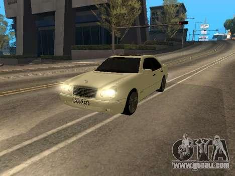 Mercedes-Benz E420 Armenian for GTA San Andreas
