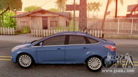 Ford Focus 3 for GTA San Andreas left view