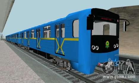Metrostav type E-KM for GTA San Andreas