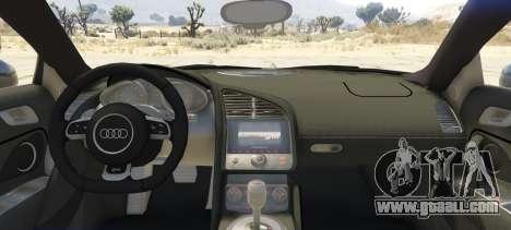 GTA 5 Audi Spyder V10 rear left side view