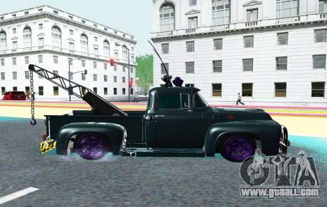 FORD F100 1956 INDIVIDUAL for GTA San Andreas left view