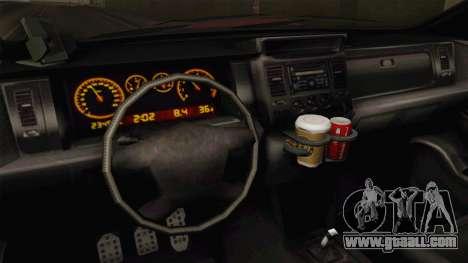 GTA 5 Bravado Gresley for GTA San Andreas inner view