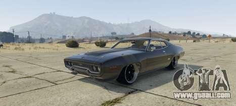 Plymouth GTX 1.1 for GTA 5