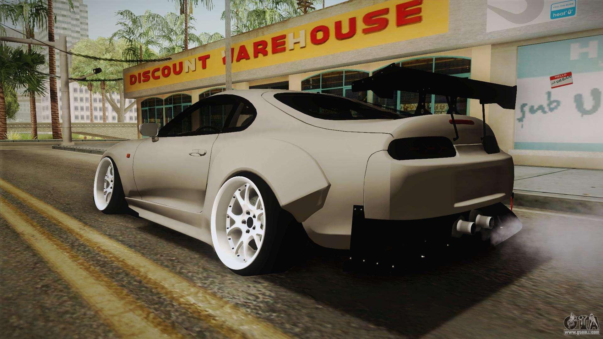1eb9e9bd361e Toyota Supra Widebody for GTA San Andreas