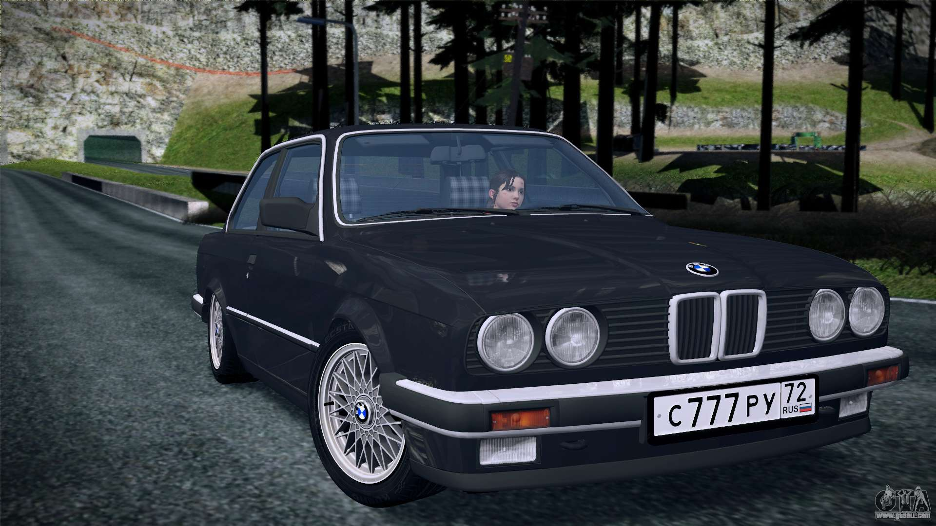bmw e30 320i for gta san andreas. Black Bedroom Furniture Sets. Home Design Ideas