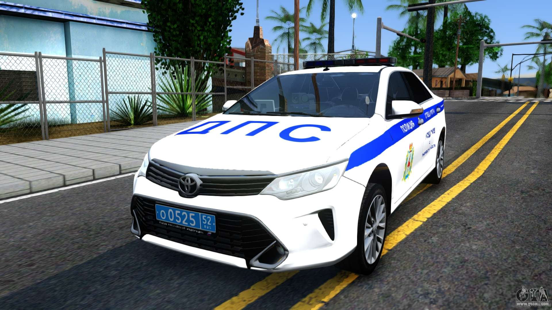 Toyota Camry Police Car >> Toyota Camry Russian Police for GTA San Andreas