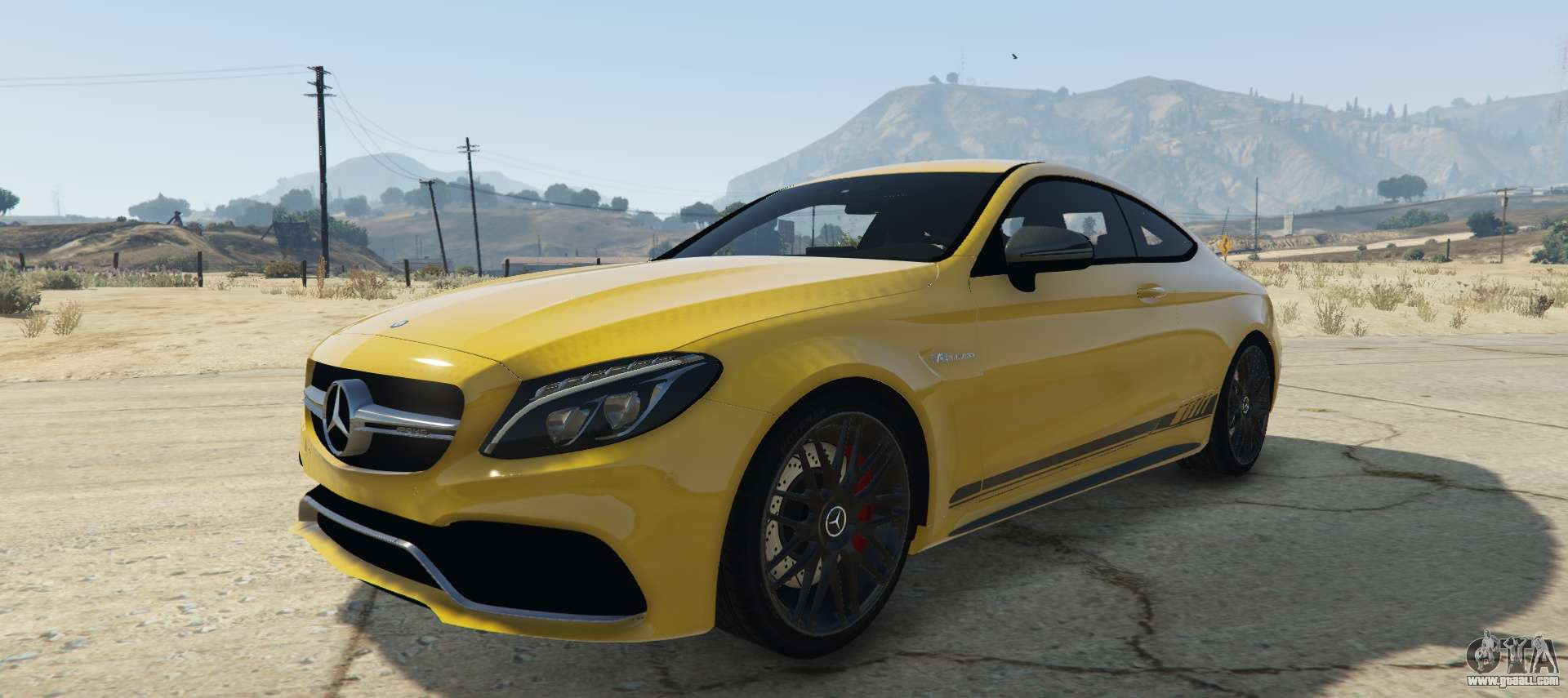 mercedes c63s amg coupe for gta 5. Black Bedroom Furniture Sets. Home Design Ideas