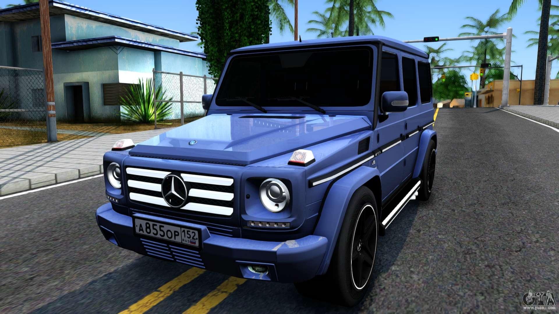 Mercedes Benz G55 Amg For Gta San Andreas