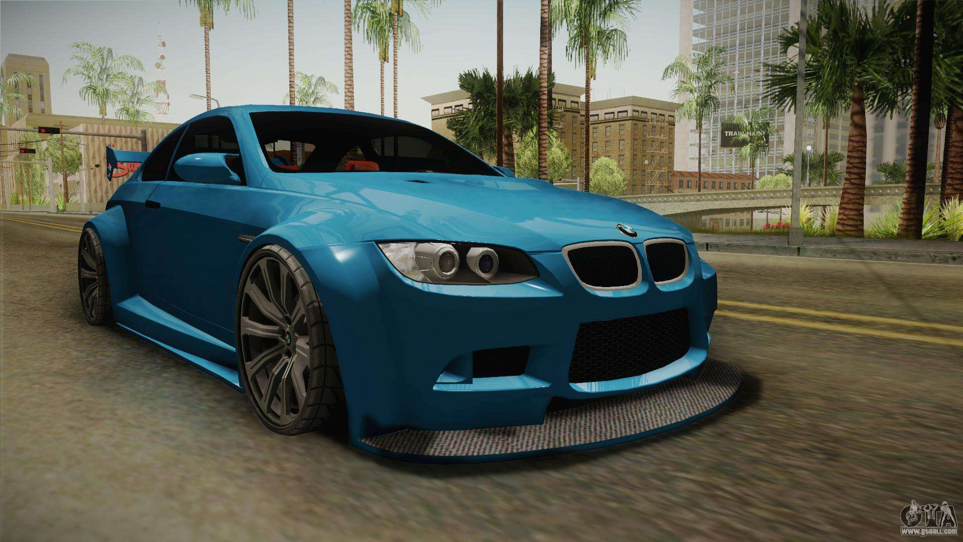 bmw m3 e92 for gta san andreas. Black Bedroom Furniture Sets. Home Design Ideas