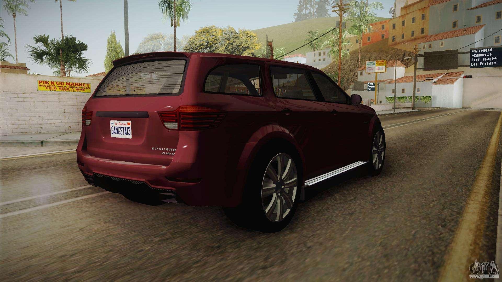 GTA 5 Bravado Gresley for GTA San Andreas