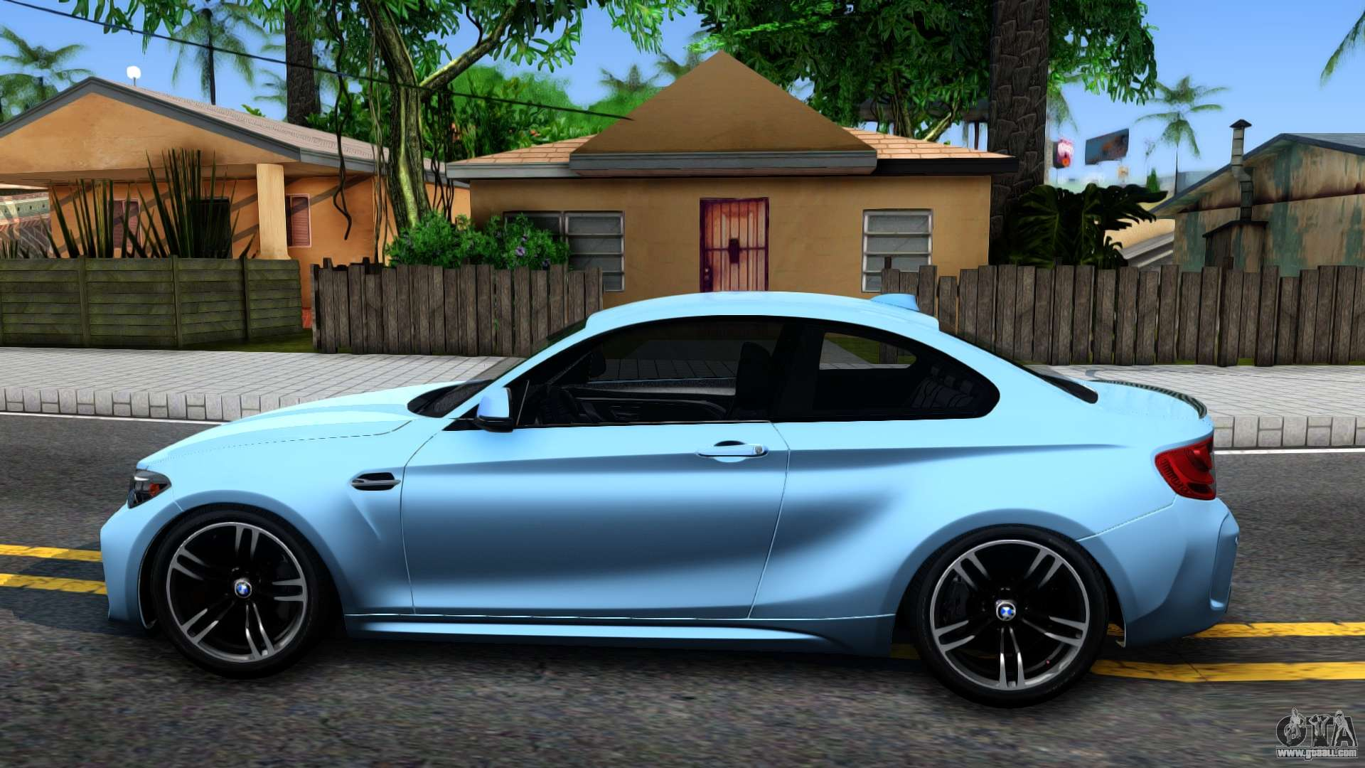 bmw m2 2017 for gta san andreas. Black Bedroom Furniture Sets. Home Design Ideas