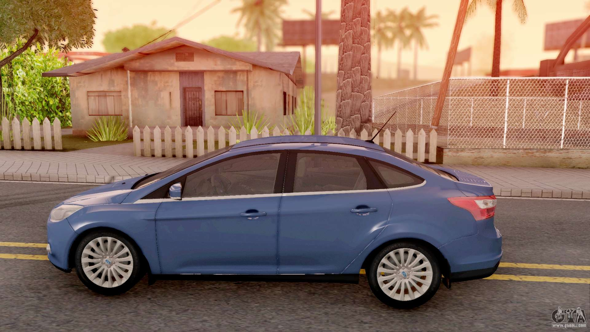 ford focus 3 for gta san andreas. Black Bedroom Furniture Sets. Home Design Ideas