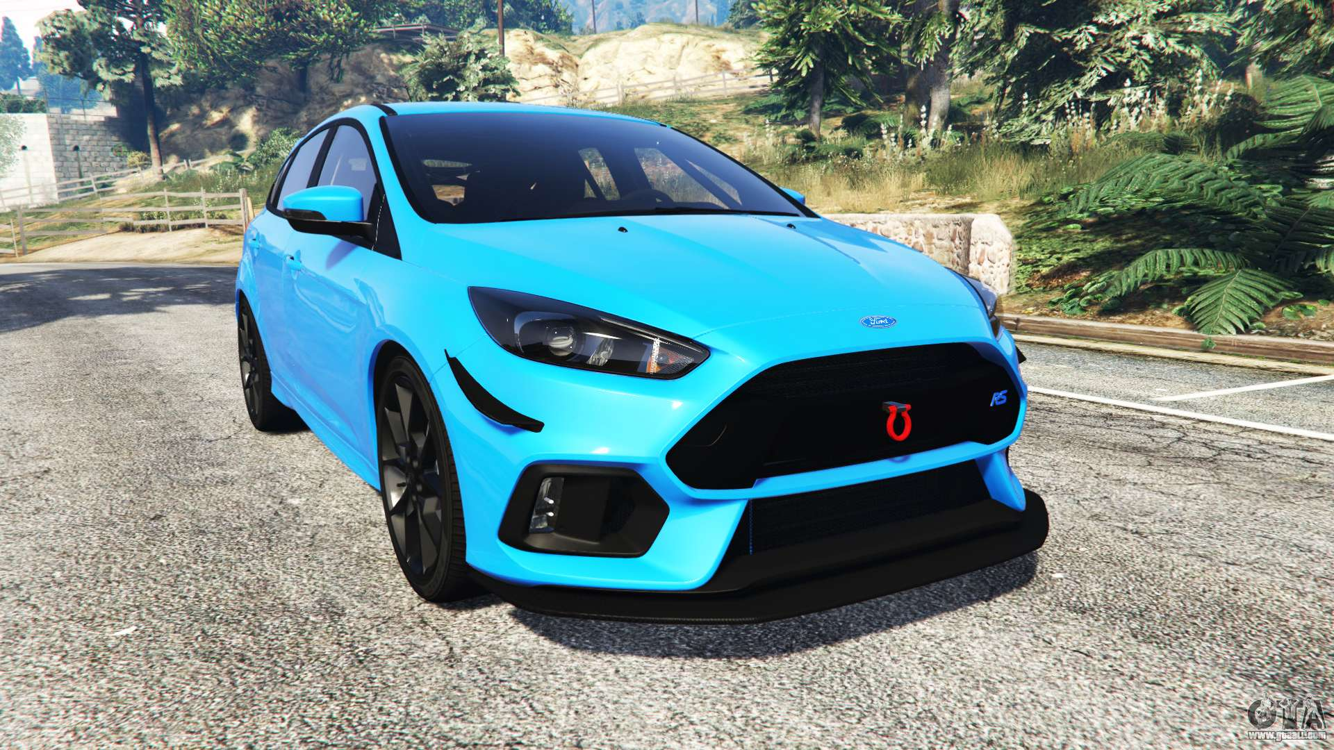 ford focus rs dyb 2017 replace for gta 5. Black Bedroom Furniture Sets. Home Design Ideas