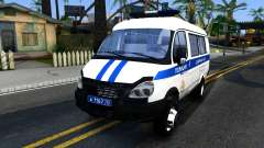Gazelle 2705 The Police for GTA San Andreas
