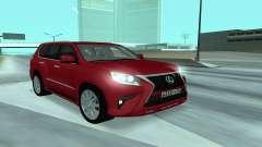 Lexus CX 460 for GTA San Andreas