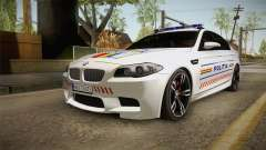 BMW M5 F10 Romanian Police for GTA San Andreas