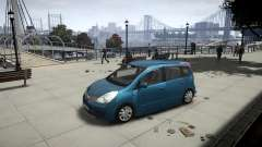 Nissan Note 2009 for GTA 4