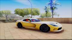 Dodge Viper yellow for GTA San Andreas