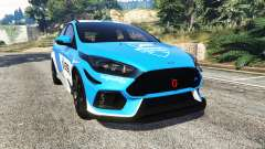 Ford Focus RS (DYB) 2017 [add-on] for GTA 5