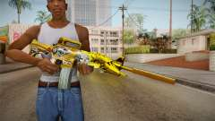 Cross Fire - M4A1-S Iron Beast Noble Gold for GTA San Andreas