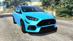 Ford Focus RS (DYB) 2017 [replace] for GTA 5