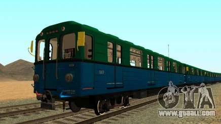 Metrostav type Еж3 for GTA San Andreas