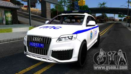 Audi Q7 Russian Police for GTA San Andreas