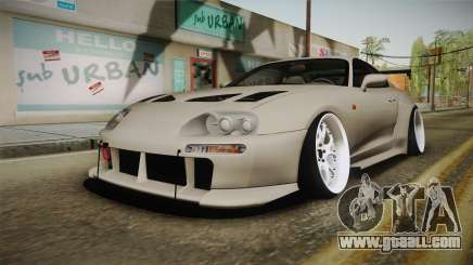 Toyota Supra Widebody for GTA San Andreas