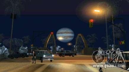 Jupiter mod for GTA San Andreas