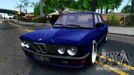 BMW E28 525e for GTA San Andreas